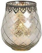 Moroccan Glass Tealight Holder Lantern Candle Decor Ornament Home Lighting
